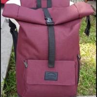 Jual BEST MODEL Tas Ransel Lipat Kekinian Backpack Rolltop Rolltop Air Bon Murah