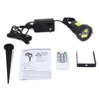Lampu Proyektor Taman Outdoor Starry Effect with Remote Control - V144