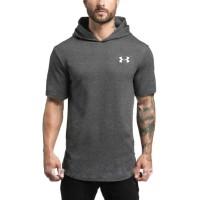 Kaos Hoodie Jogging SPORT UA UNDERARMOUR / Hoodie gym fitness Tshirt