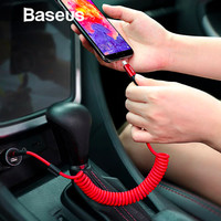 Baseus Retractable Spring 2A Type C Charging Data Cable Original