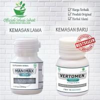 Vertomen Obat Herbal Memperbanyak, Pengental dan Penyubur Sperma Pria