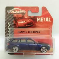 Majorette Street Cars BMW 5 Touring blue veleg garis