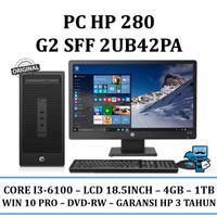 PC HP 280 G2 SFF (2UB42PA) - Intel Core i3-6100/4GB