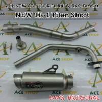 Harga knalpot proliner tr1 titan short all new cbr 150 r facelift | DEMO GRABTAG