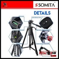 MURAH Tripod Camera SOMITA ST-3520 SLR DSLR Digital kamera Tongsis