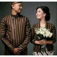 Jual Baju Couple Adat Jawa Dengan Blangkon Modang Kota Surakarta Murah Collection Winsh Tokopedia