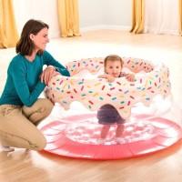 Soft Sides Trampoline 127cmx61cm Kids Playground for Gym - Intex 48476