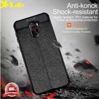 Case Xiaomi Pocophone F1 Autofocus Leather Premium Casing Kulit