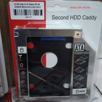 HDD CADDY / 2nd Hard disk 9,5mm SATA to SATA for MAC