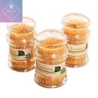 Tusuk Gigi Bambu / Toothpick bahan Acrylic Tebal