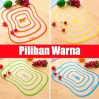 Talenan Plastik / Cutting Board / Talenan Fleksibel 20cm x 13cm Kecil