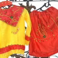 Baju adat pakaian betawi stelan kostum karnaval kartinian anak