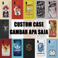 CUSTOM CASE/CASING CUSTOM FULL PRINT HARD CASE OPPO VIVO SAMSUNG XIAOM