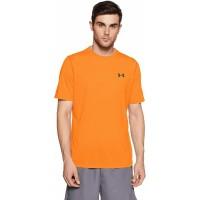 Under Armour Original UA Threadbone Siro Tshirt Oranye Kaos Gym Pria