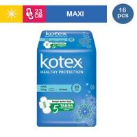 KOTEX SOFT & SMOOTH MAXI WING ISI 16