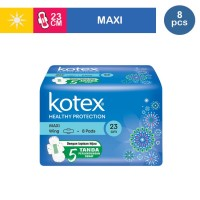 KOTEX SOFT & SMOOTH MAXI WING ISI 8