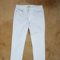 Preloved Zara Basic Pants White
