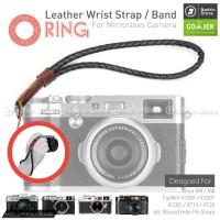 Leather Wrist Strap Kepang Mirrorless Leica M9 M8 Fujifilm XT20 X100F