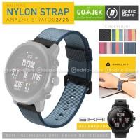 SIKAI Original Nylon Strap Xiaomi Huami Amazfit Pace 2 Stratos 22MM