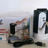 Pompa Air Galon Aqua Listrik Elektrik Terbaru Q-668 Bisa di Charge