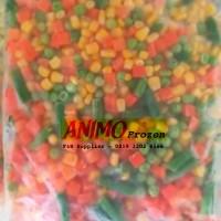 Mix Vegetables / Mix Vegetable 4 Way 1 Kg