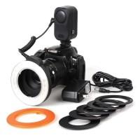 Ring Light Flash Macro Video LED 48 Wansen Nikon Canon DSLR Camera