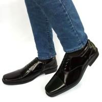 Rasheda sepatu pantofel pria kulit asli K 07 Custom Tali Big Size a632286427