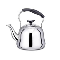 Teko Stainless 1.5 L / Ceret Bunyi Siul anti karat + saringan kopi teh