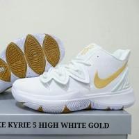 741c2faf4ad4 SEPATU NIKE KYRIE 5 HIGH WHITE GOLD SIZE KECIL 36-39