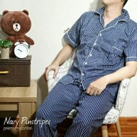 Piyama Pria / Baju tidur pria katun celana panjang / man pajamas