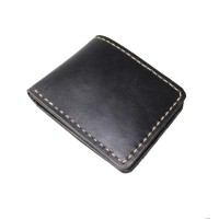 Dompet Kulit Pria HS Black - Kenes Leather