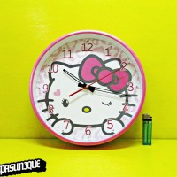 Jam Dinding Karakter Hello Kitty 8336-1