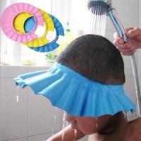 Topi Keramas Anak Bayi Pelindung Mata Telinga / Kids Shower Cap - X113