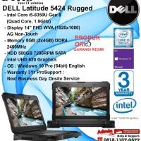 DELL Latitude 5424 Rugged Intel Core i5-8350U/8GB/500GB SATA/WIN10PRO