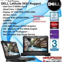 DELL Latitude 5424 Rugged Intel Core i7-8650U/8GB/1TB SSD/WIN10PRO