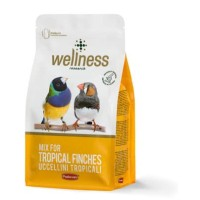 Wellness Food Tropical Finches Makanan Burung 1kg
