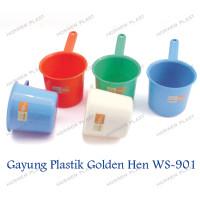 1 bh Gayung Plastik / Ciduk Air / Centong Air Golden Hen WS-901