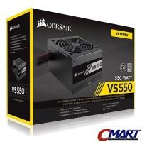 Corsair VS Series VS550 PSU ATX Power Supply True Gaming 550W 550 watt