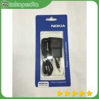 OEM Charger Nokia N95 Lubang / Ujung Kecil - Hitam -H2731
