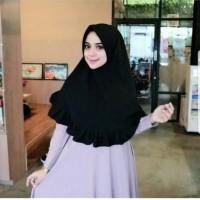 (1kg = 9pcs) Hijab Simpel Khimar Pet Rempel ||| HIJAB JILBAB KHIMAR