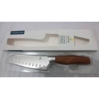 Gorme Premium Legna Series Italian Design Santoku Knife Pisau Dapur