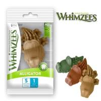 Whimzees Dental Chew Dog Treats Alligator Small (1 piece)