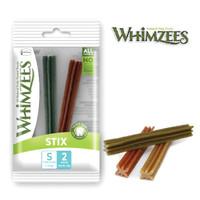 Whimzees Dental Chew Dog Treats Stix S (2 pieces)