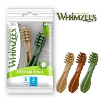 Whimzees Dental Chew Dog Treats Toothbrush S (2 pieces)