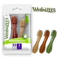 Whimzees Dental Chew Dog Treats Toothbrush XS (2 pieces)