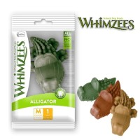 Whimzees Dental Chew Dog Treats Alligator Medium (1 piece)