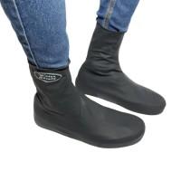 sarung / Pelapis Sepatu karet Anti Air Hujan Waterproof Tinggi