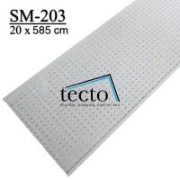 TECTO Plafon PVC SM-203 (20cm x 585cm)