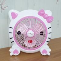 Kipas Angin Portable Karakter Hello Kitty 8