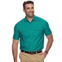 C&B Outdoor Shirt Green BIGSIZE - Kemeja PDL Lapangan JUMBO SIZE